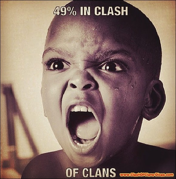 Humor Clash of Clans ataques fail