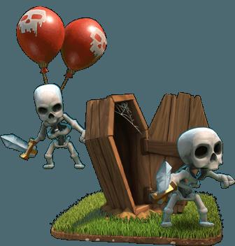 Armadilha de Esqueletos - Clash of Clans