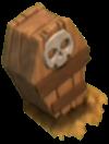 Armadilha de Esqueletos nível 1 e 2