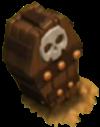 Armadilha de Esqueletos nível 3 e 4
