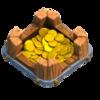 Armazenamento de Ouro Nível 1 - Clash of Clans