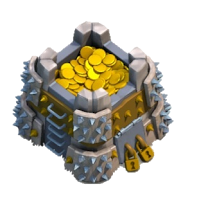 Armazenamento de Ouro Nível 10 - Clash of Clans