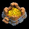 Armazenamento de Ouro Nível 2 - Clash of Clans
