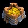 Armazenamento de Ouro Nível 3 - Clash of Clans
