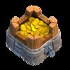 Armazenamento de Ouro Nível 5 - Clash of Clans