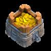 Armazenamento de Ouro Nível 6 - Clash of Clans