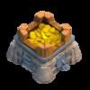 Armazenamento de Ouro Nível 7 - Clash of Clans