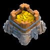 Armazenamento de Ouro Nível 8 - Clash of Clans