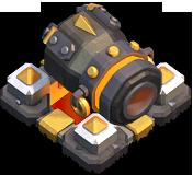 Canhão Nível 15 - Clash of Clans