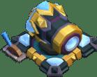 Canhão Nível 19 - Clash of Clans