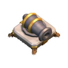 Canhão Nível 8 - Clash of Clans
