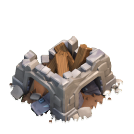 Wiki Castelo do Clã destruido - Clash of Clans