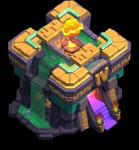Centro de Vila 14 (Giga-Inferno nível 4) - Clash of Clans