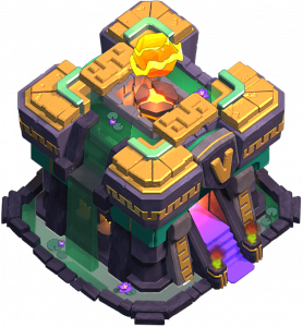 Centro de Vila 14 (Giga-Inferno nível 5) - Clash of Clans