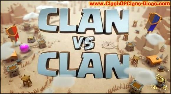 Prepare-se para a Guerra de Clans