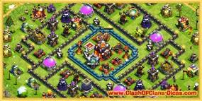 Muros de vilas clash of clans