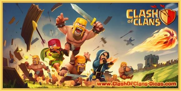 Tudo sobre clash of clans