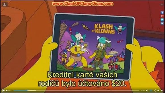Klash of Klowns Simpsons