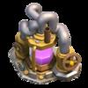 Coletor de Elixir nível 9 - Base do Construtor