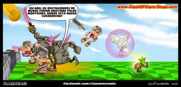Pekka precisando de cura clash of clans