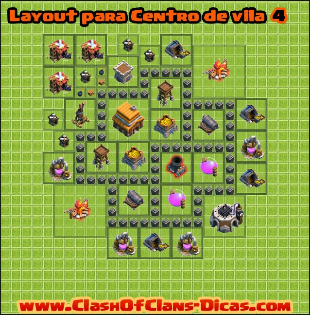cv 4 clash of clans - Layout Cv 4 Clash Of Clans