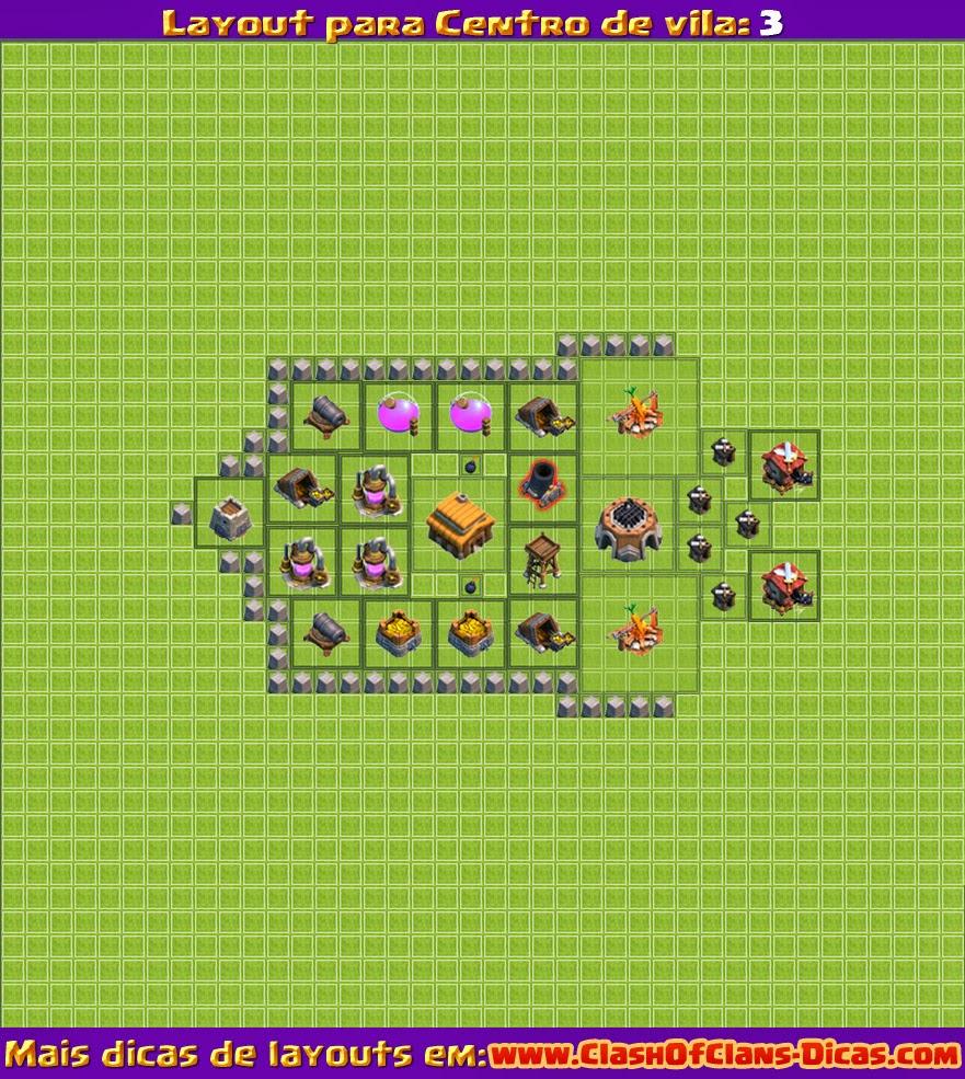 Level 3 centro de vila