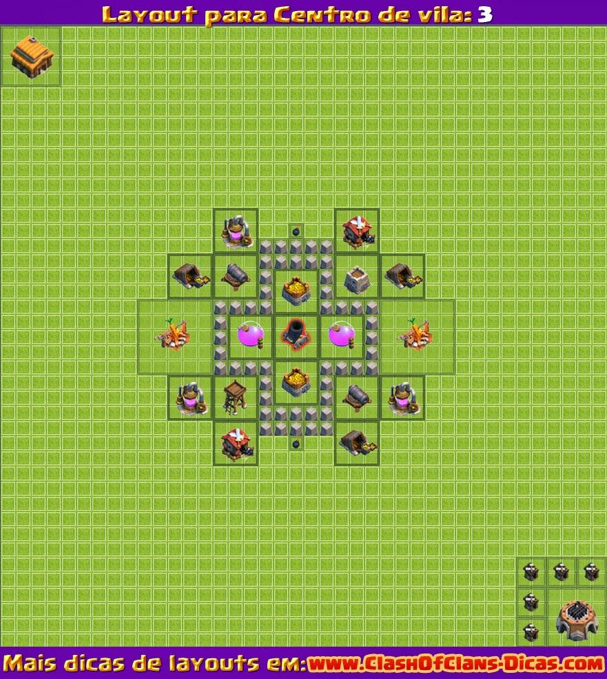Nível 3 - Clash of clans