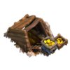 Mina de Ouro Nível 1 - Clash of Clans