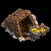 Mina de Ouro Nível 2 - Clash of Clans