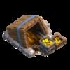 Mina de Ouro Nível 5 - Clash of Clans