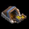 Mina de Ouro Nível 7 - Clash of Clans
