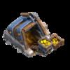Mina de Ouro Nível 8 - Clash of Clans