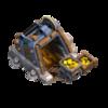 Mina de Ouro Nível 9 - Clash of Clans