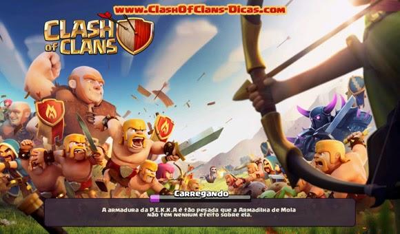 Atualização Clash of clans 2014 - Guerra!!!