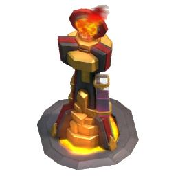 Torre Inferno nível 2 - Clash of Clans