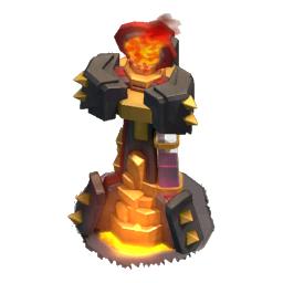 Torre Inferno nível 3 - Clash of Clans