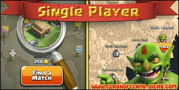 Campanha Single Player Clash of clans