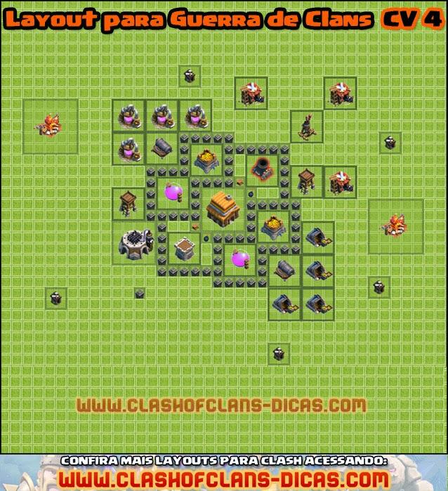 CV 4 - layout clan wars