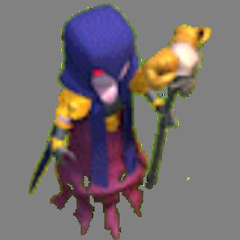 Bruxa nível 1 e 2 Clash of Clans