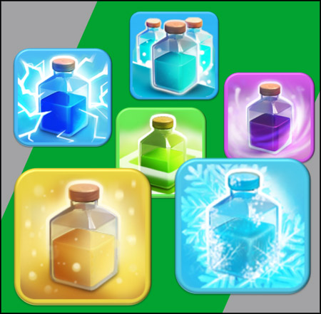Feitiços de Elixir do Clash of Clans