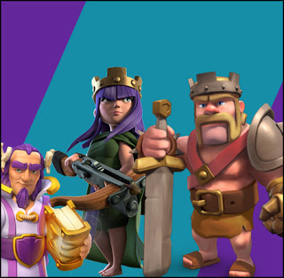 Heróis do Clash of Clans