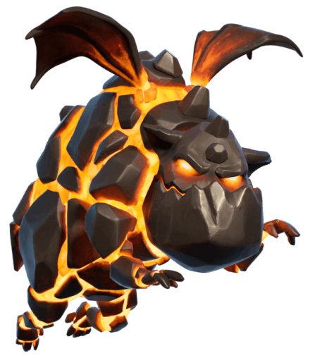 Lava Hound do Clash of Clans