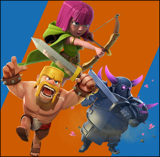 Tropas de Elixir do Clash of Clans