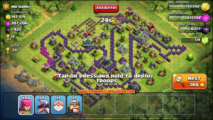 comentrios via facebook - Layout Cv 4 Clash Of Clans