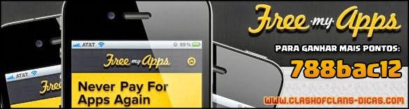 Free My apps Como conseguir Gemas Grátis em Clash of Clans