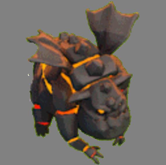 Lava Hound nível 1 e 2 Clash of Clans