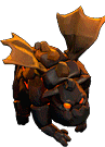 Lava Hound nível 5 Clash of Clans