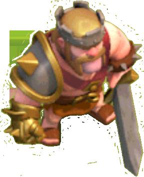 Rei Bárbaro em Clash of Clans