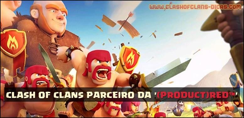 Clash of Clans parceiro da (Produtc) RED™ - iOS