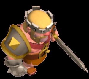 Rei Bárbaro - Visual Padrão